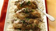 Slow Cooker Chicken Marsala Recipe