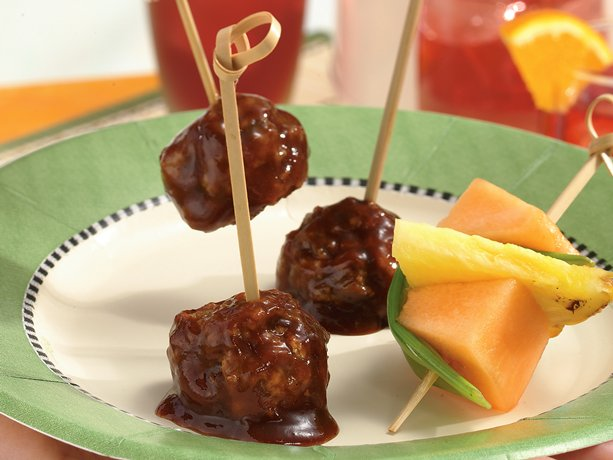 Image of Asian Meatballs, Betty Crocker