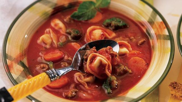 Sausage Tortellini Soup