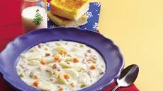 Creamy Ham and Potato Soup Recipe