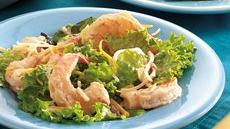 Southwestern Shrimp Taco Salad Recipe