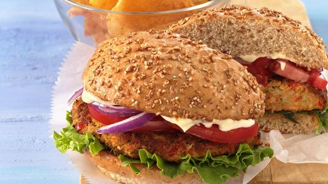 Veggie and Bean Burgers