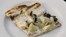 Artichoke and Kalamata White Pizza Recipe
