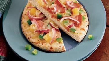 Canadian Bacon Pizzas