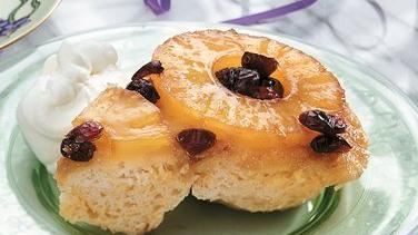 Pineapple Upside-Down Biscuit Cake