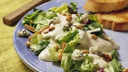 Nutty Greens with Ranch Dressing