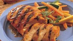 Apple- and Ginger-Glazed Chicken Breasts