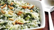 Baked Risotto with Spinach Recipe