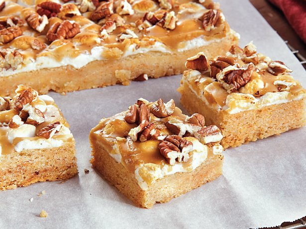 Deluxe Pumpkin Bars