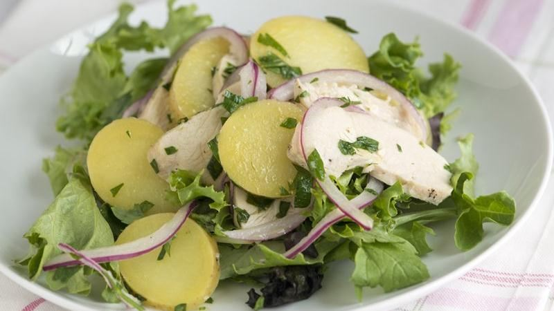 Parsley Chicken and Potato Salad