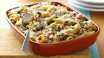 Bacon and Caramelized Onion Mac 'n Cheese