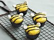 Orange Honeybee Mini Cupcakes