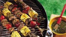 Southwest Steak Kabobs Recipe