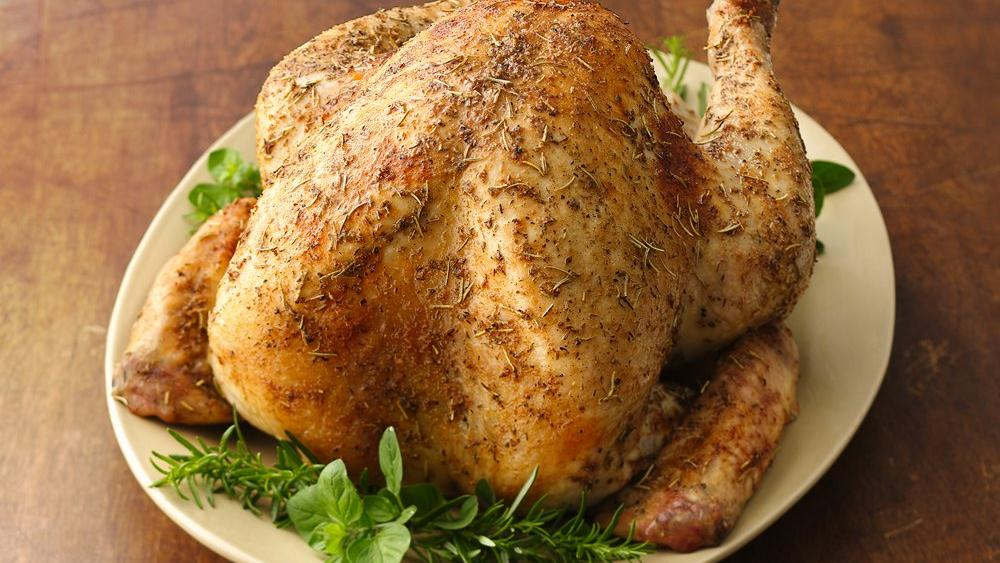 All-Through-the-House Aromatic Roasted Turkey