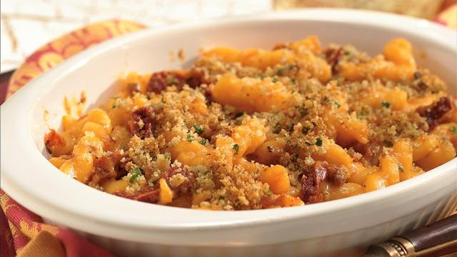 Bacon and Tomato Mac 'n Cheese for Two