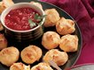 Parmesan Puffs with Marinara