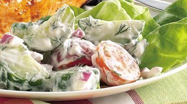 Creamy Dill-Cucumber Salad
