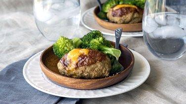 Cheesy Mini BBQ Turkey Meat Loaves