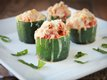 Lasagna-Stuffed Zucchini Bites