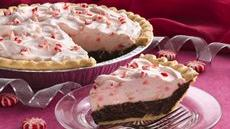 Holiday Chocolate-Mint Pie Recipe