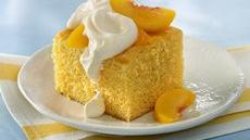 Peaches 'n Cream Cake Recipe