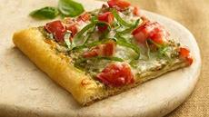 Tomato Pesto Pizza Recipe
