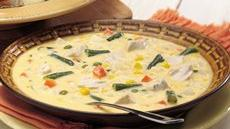 Cheesy Chicken-Vegetable Chowder Recipe