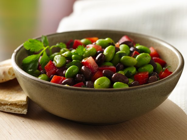 Edamame-Black Bean Salad