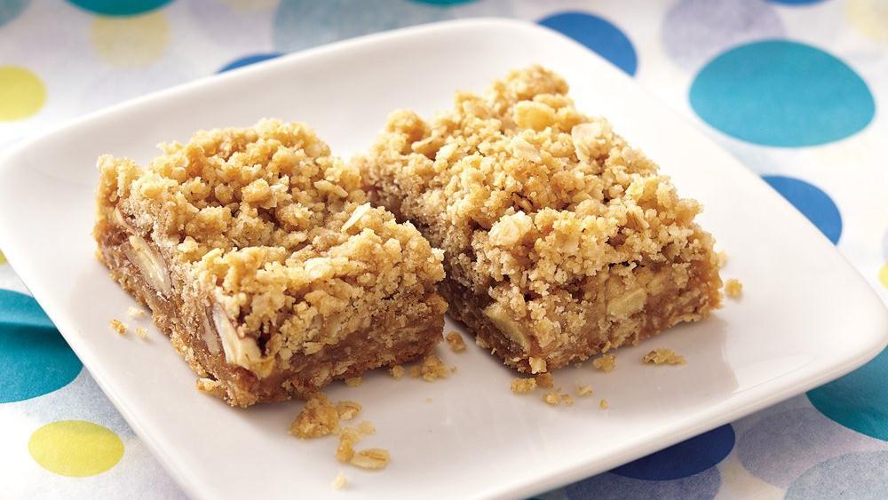 Caramel Apple-Nut Bars recipe from Pillsbury.com
