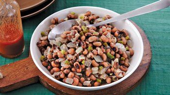 Slow-Cooker Spicy Black-Eyed Peas