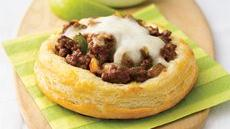 Sloppy Joe Biscuit Rounds Recipe