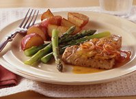 Orange and Dill Pan-Seared Tuna