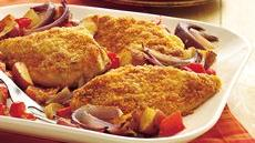 Savory Baked Chicken and Potato Dinner Recipe