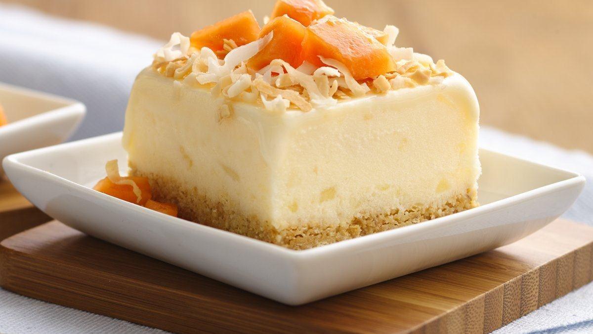 pina colada frozen dessert made delicious