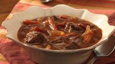 Portobello and Beef Burgundy Stew Recipe