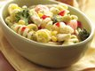 Creamy Garlic Pasta Primavera