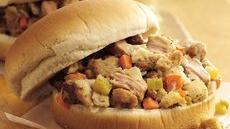 Slow Cooker Turkey and Dressing Sandwiches Recipe