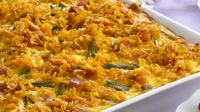 Image of Asparagus, Ham And Egg Bake, Pillsbury
