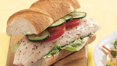 Baked Fish Sandwiches