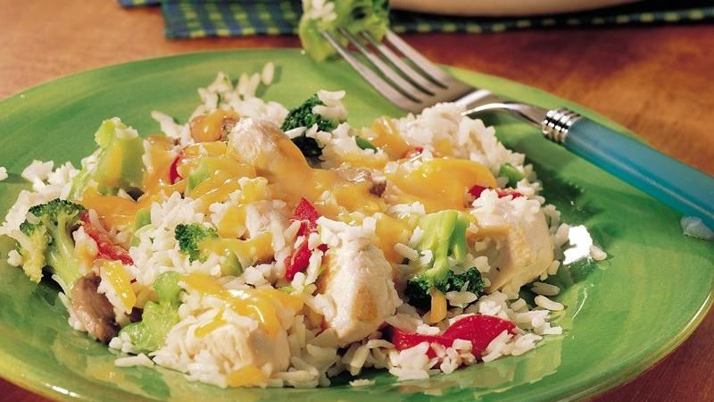 Chicken Rice Skillet
