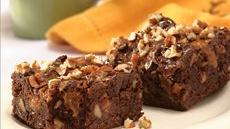Double Chocolate-Caramel-Fudge Brownies Recipe