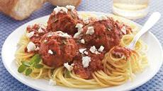 Greek Meatballs with Spaghetti Recipe