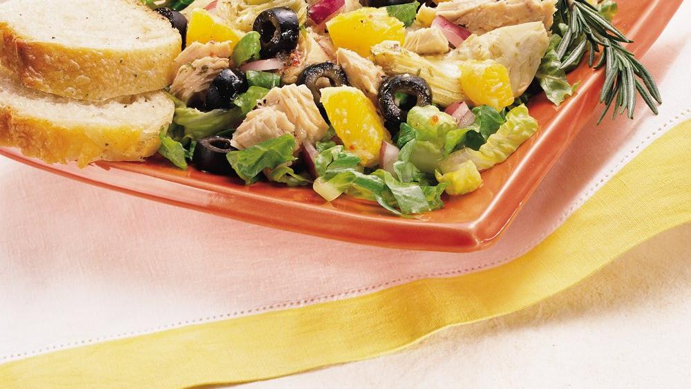 Italian Tuna and Artichoke Salad