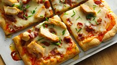 Bacon Asian Orange Chicken Pizza Recipe