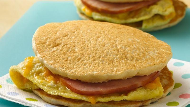 Panwiches (Pancake Sandwiches)