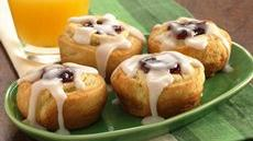 Cherry-Almond Swirls Recipe