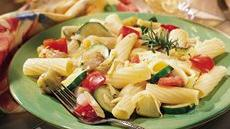 Rigatoni and Grilled Vegetables Recipe