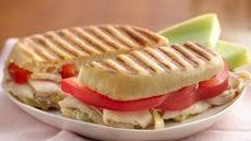 Turkey, Artichoke and Parmesan Panini Recipe