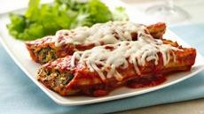 Easy Cheesy Manicotti Recipe