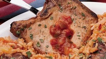 Tex-Mex Pineapple Pork Chops